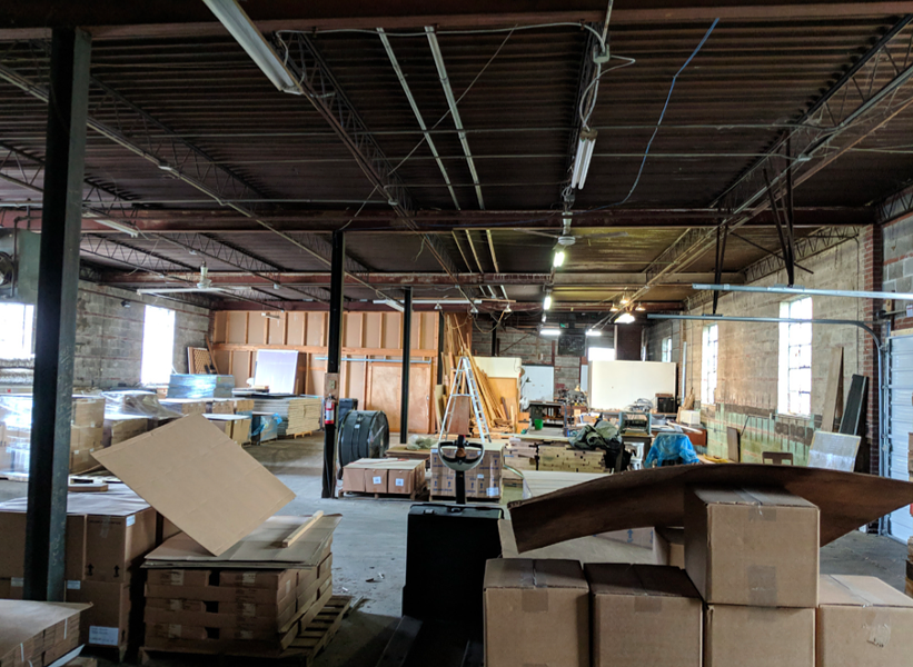 A current view inside The Medicine Factory. - CENTER CITY DEVELOPMENT CORP.
