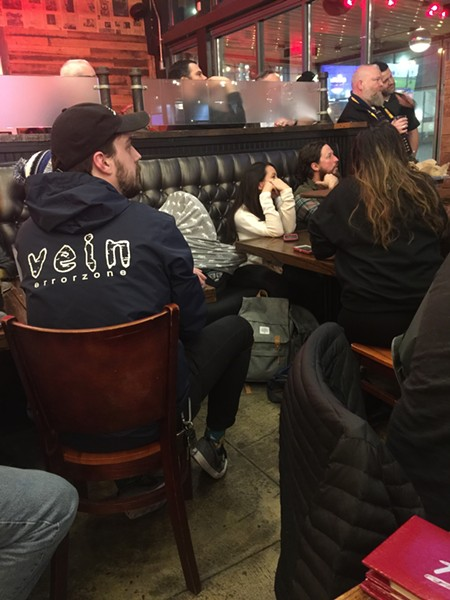 Representatives of participating breweries turned out for Memphis Flyer and Aldo's Beer Bracket Challenge Match-Up, which was held February 11th at Aldo's Pizza Pies Downtown. Readers were asked to select their favorite beer. The winner will be announced soon. - MICHAEL DONAHUE