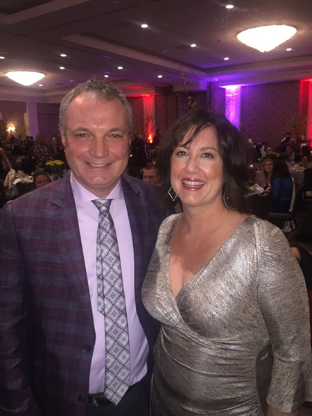 Patrick and Deni Reilly at Memphis Restaurant Association banquet. - MICHAEL DONAHUE
