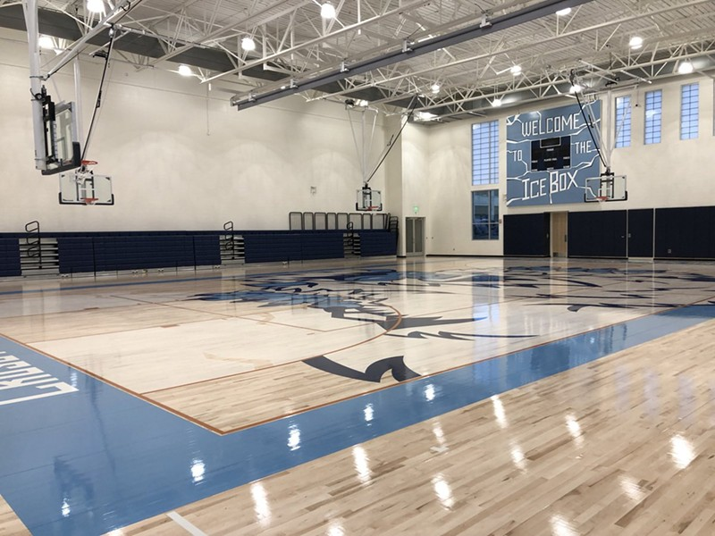 Crosstown High's new gym - CROSSTOWN CONCOURSE