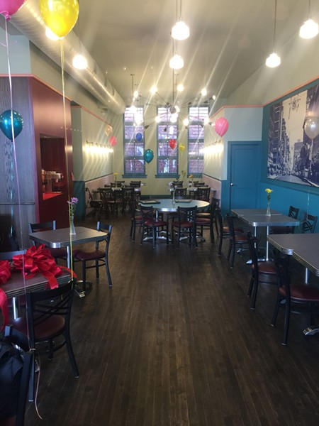 A section of the new addition at the Arcade Restaurant. - MICHAEL DONAHUE