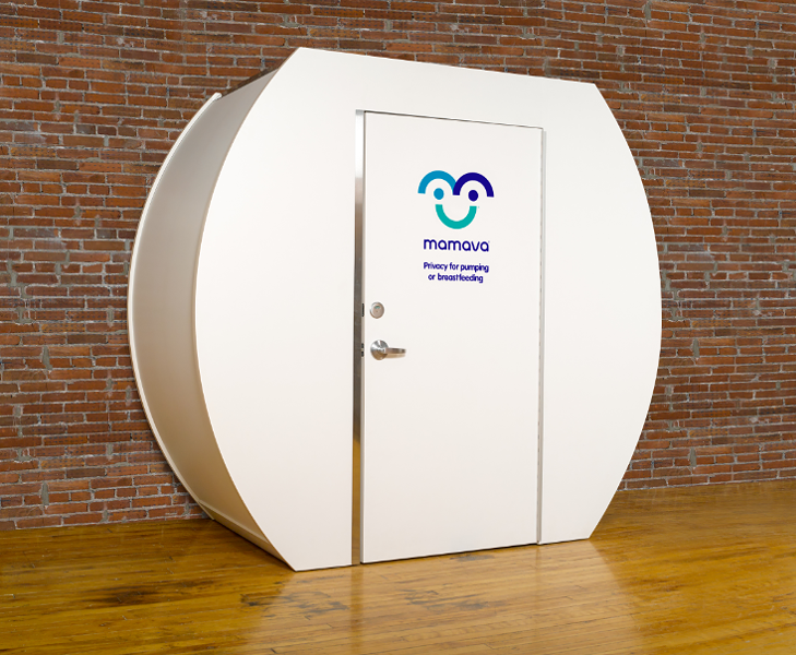 A lactation pod like this could soon be at the FedExForum - MAMAVA