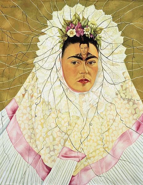 Diego on My Mind (Self-Portrait as Tehuana), 1943.