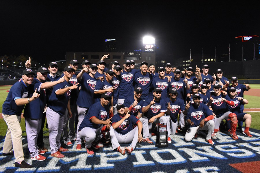 2018 Triple-A National Champions - COURTESY MEMPHIS REDBIRDS