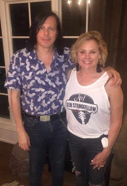Singer-songwriter Ken Stringfellow, who worked with The Posies, R.E.M., and re-formed Big Star, performed at a house concert Sept. 13th at the home of Madelyn Gray. - MICHAEL DONAHUE