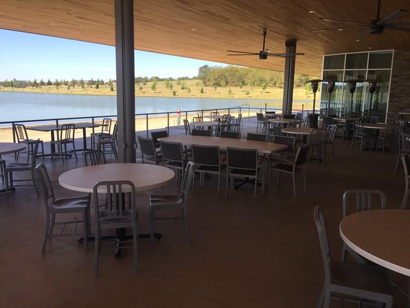 Coastal Fish Company patio at Shelby Farms - MICHAEL DONAHUE