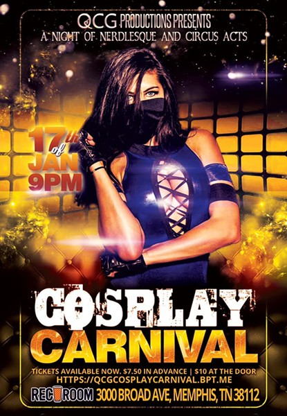 Cosplay Carnival: A Nerdlesque and Circus Extravaganza