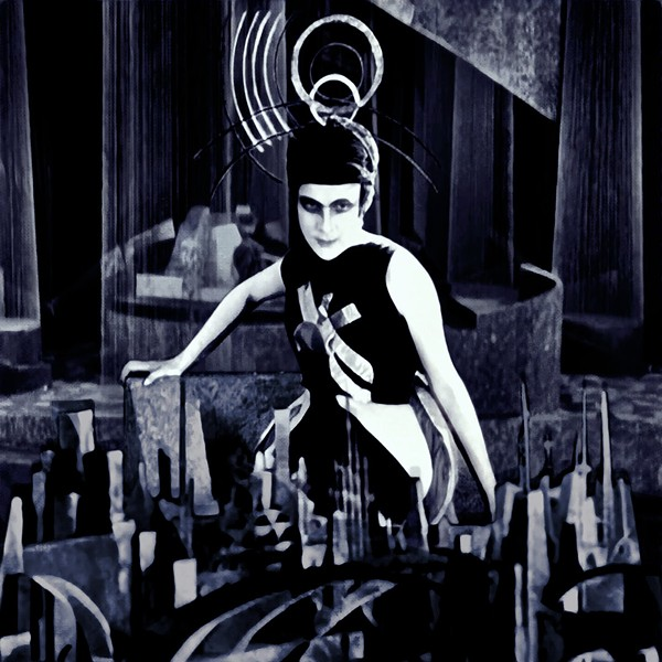 Yuliya Solntseva as Aelita: Queen of Mars. Solntseva went on to direct 17 films herself and became the first woman to win Best Director at the Cannes Film Festival.