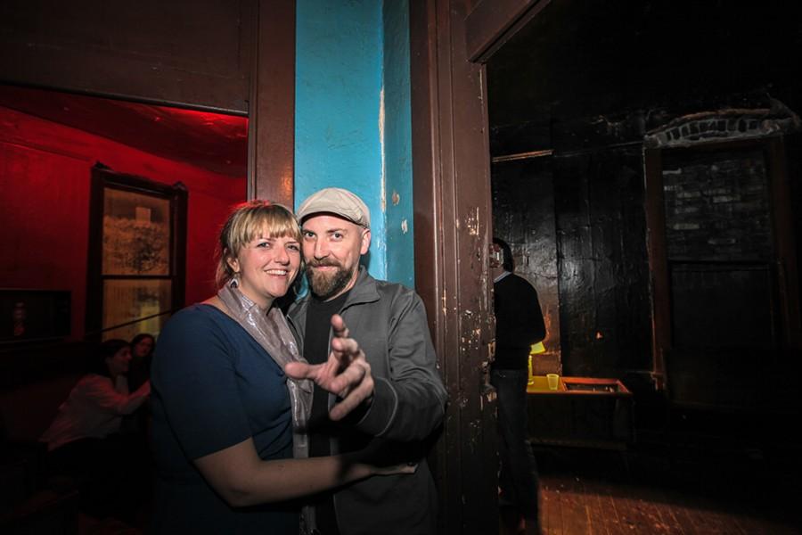Leah Keys and Jamie Harmon