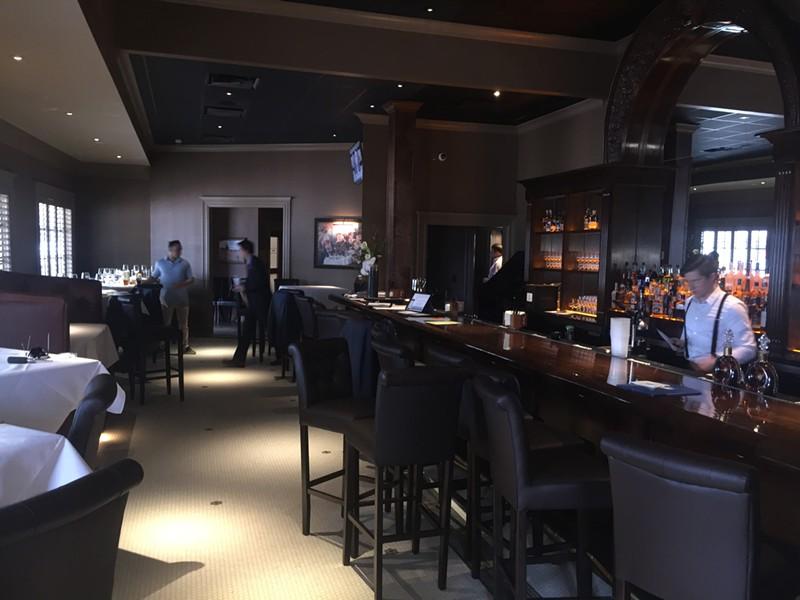 The bar at Porch & Parlor - MICHAEL DONAHUE
