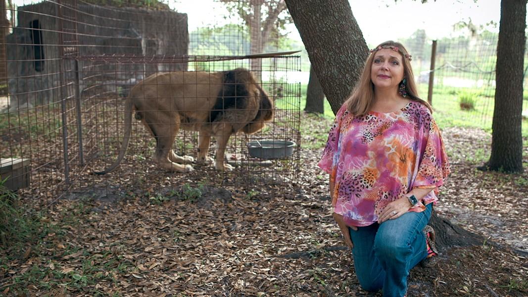 Carole Baskin, the proprietor of Big Cat Rescue in Florida