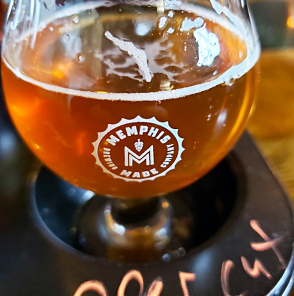 Memphis Made Uppercut Double IPA - RICHARD MURFF