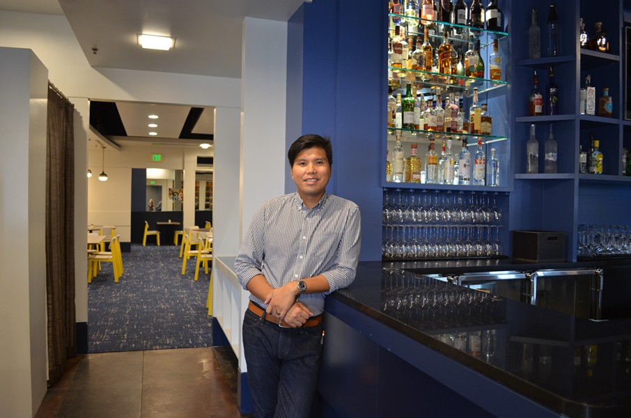 SOB owner Ed Cabigao at the new East Memphis location. - MURRAY LACE/OBSIDIAN