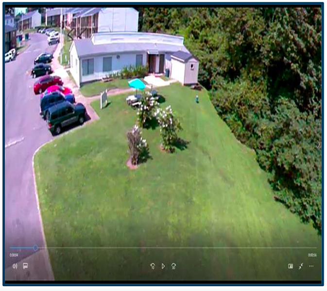 Surveillance still from GYAC's Rolling Hills site. - TENNESSEE COMPTROLLER OF THE TREASURY