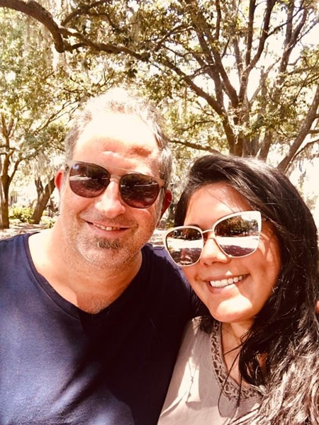 Spencer and Kristin McMillin in Savannah, Georgia