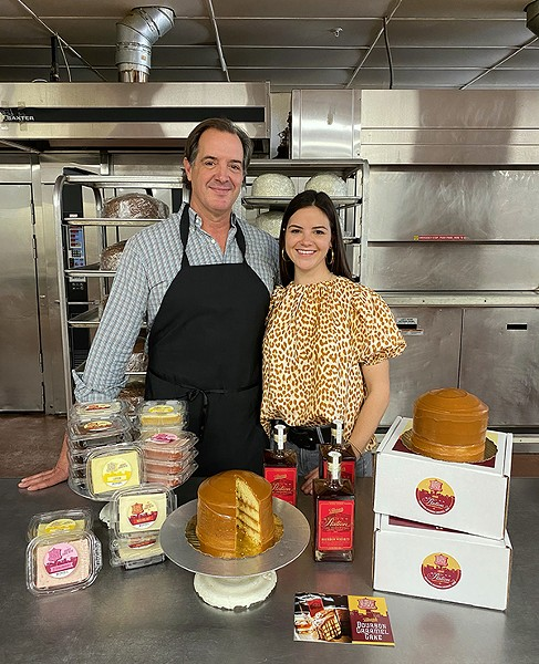 Sugar Avenue Bakery owner - Ed Crenshaw and his daughter, Miller Cowan, the bakery's creative director - LIBBY GREEN