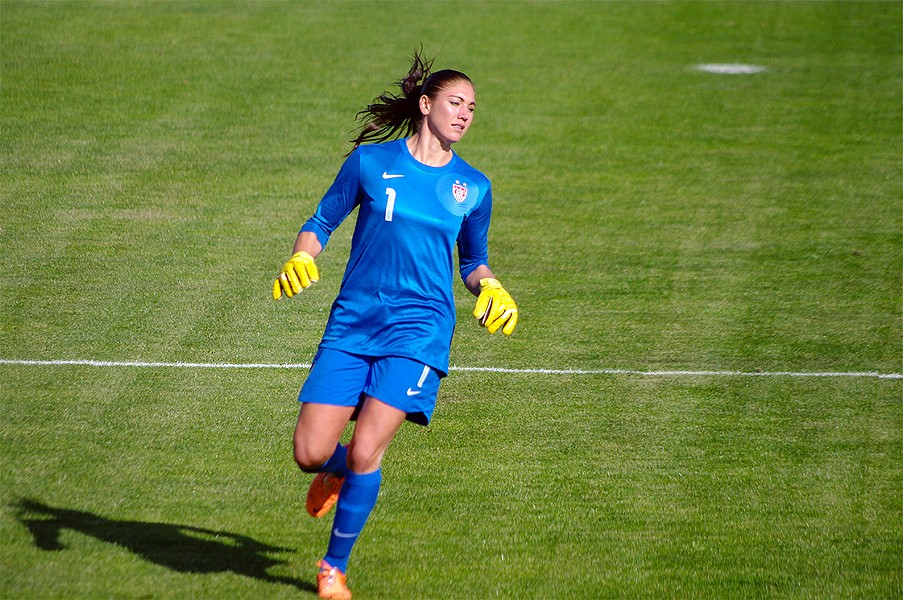 Hope Solo - © LUIS LOPES SILVA | DREAMSTIME.COM