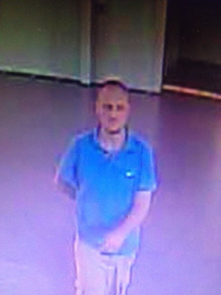 Police are looking for this man in connection with a burglary at Bikram Yoga in Overton Square.