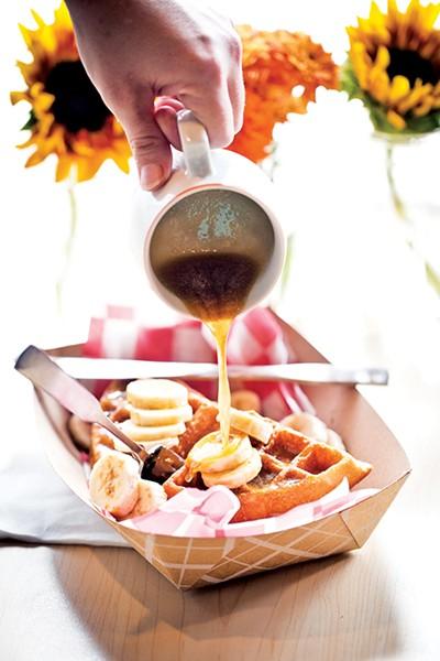 Bedrock's waffles - JUSTIN FOX BURKS