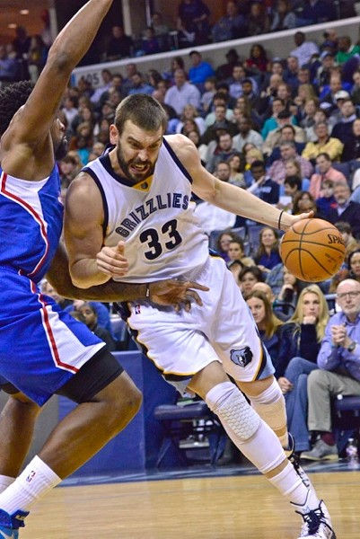 Marc Gasol is more comfortable than ever, and that's probably a good thing. - LARRY KUZNIEWSKI