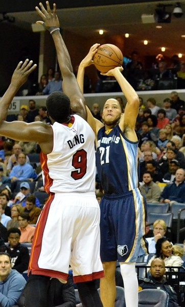 The last time the Heat and Grizzlies played, Tayshaun was still on the team. Feels like a lifetime ago. - LARRY KUZNIEWSKI