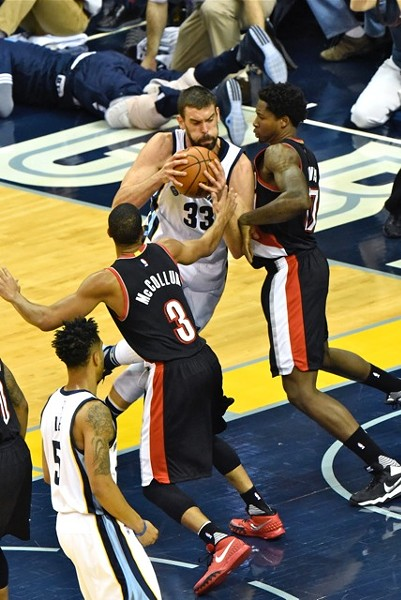 Marc Gasol had one of his worst games of the season last night, and that's saying something this year. - LARRY KUZNIEWSKI