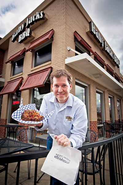 Clem opened Baby Jack's BBQ in 2012. - JUSTIN FOX BURKS