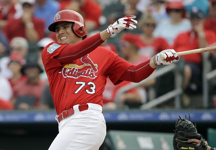 The St. Louis Cardinals' Aledmyz Diaz