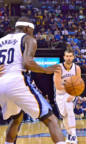 What should we expect from these Grizzlies in the wins column? What's realistic and what's not? - LARRY KUZNIEWSKI