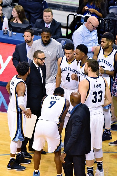 The Grizzlies had their hands full last night because of all the injuries they've suffered. - LARRY KUZNIEWSKI