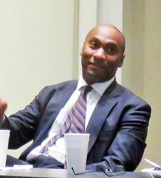 Harris at NFIB meeting - JB
