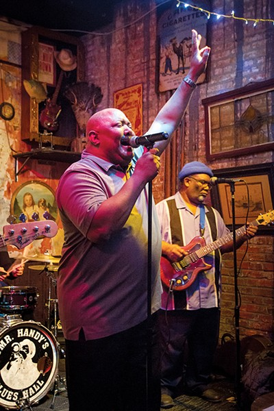 The McDaniel Band plays Tuesdays and Wednesdays at the Blues Hall. - DON PERRY