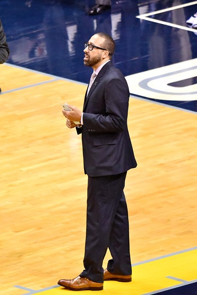 Grizzlies head coach David Fizdale - LARRY KUZNIEWSKI