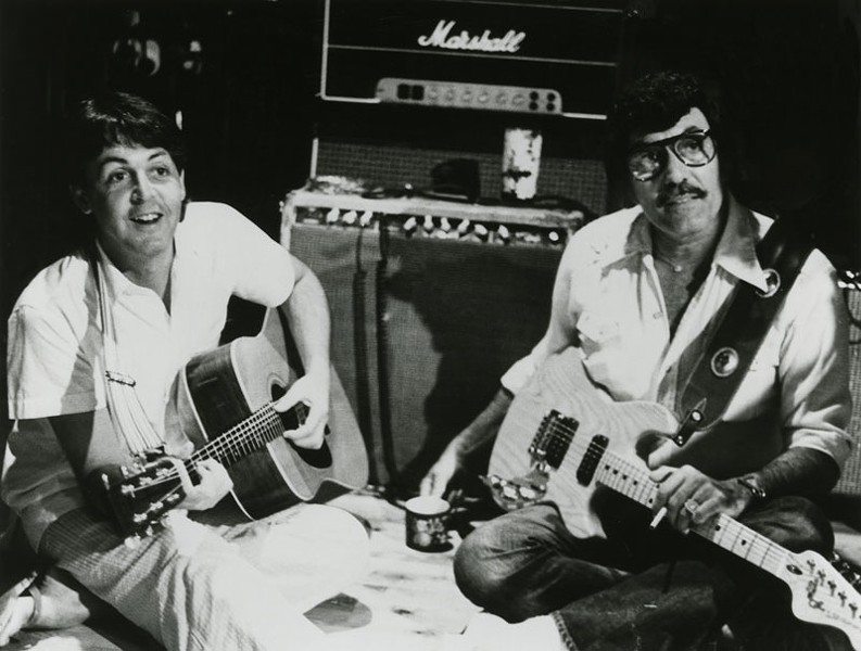 Paul McCartney & Carl Perkins
