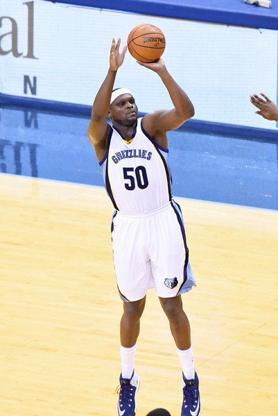 Zach Randolph started the second half and almost made a miraculous comeback happen. - LARRY KUZNIEWSKI