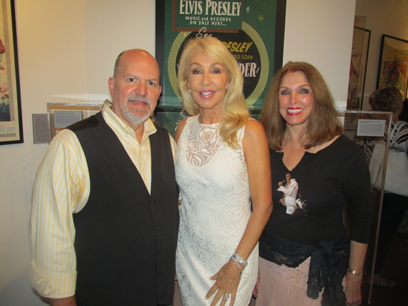 John Doyle, LInda Thompson, Pat Kerr Tigrett at Linda Thompson's book signing at Memphis Rock N' Soul Museum. - MICHAEL DONAHUE