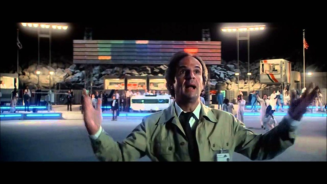 Francois Truffault as Claude LaCombe in Close Encounters of the Third Kind.