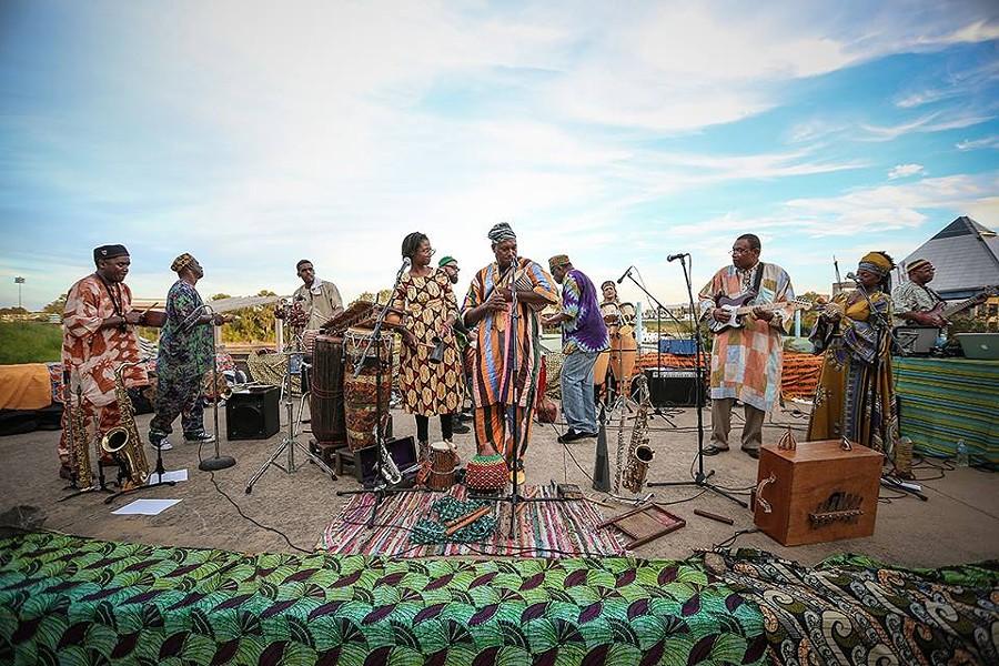 African Jazz Ensemble - JAMIE HARMON