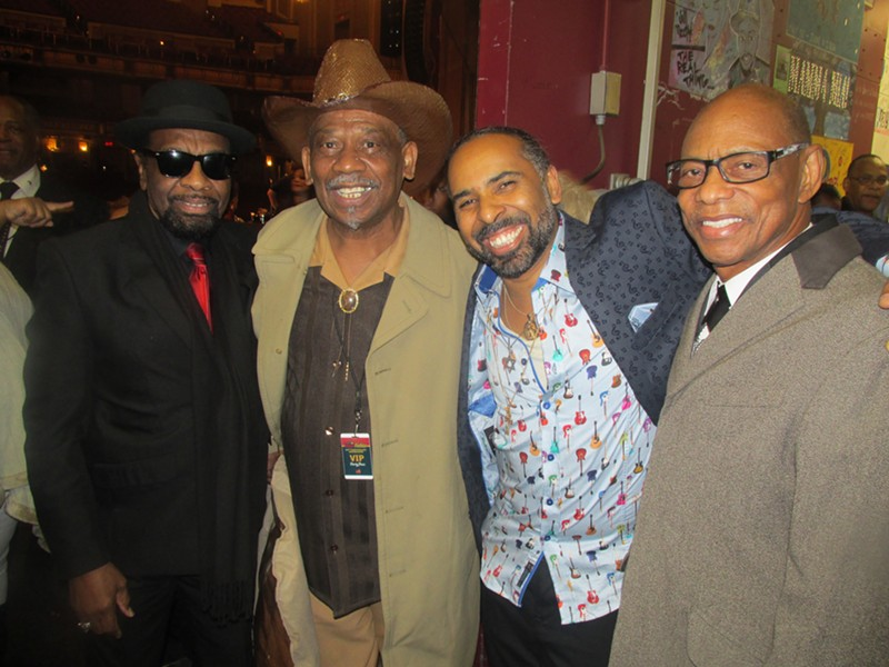 """Celebrating backstage at """"Sixty Soulful Years."""" - MICHAEL DONAHUE"""