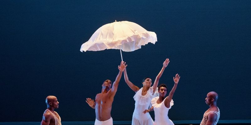 Alvin Ailey American Dance Theater perform Revelations.
