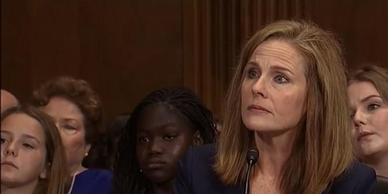 Amy Coney Barrett before the Senate Judiciary Committee