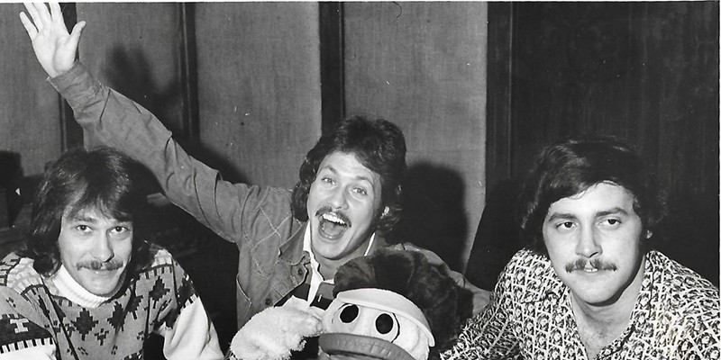 Bobby Manuel, Rick Dees, Wareen Wagner, and a Disco Duck.