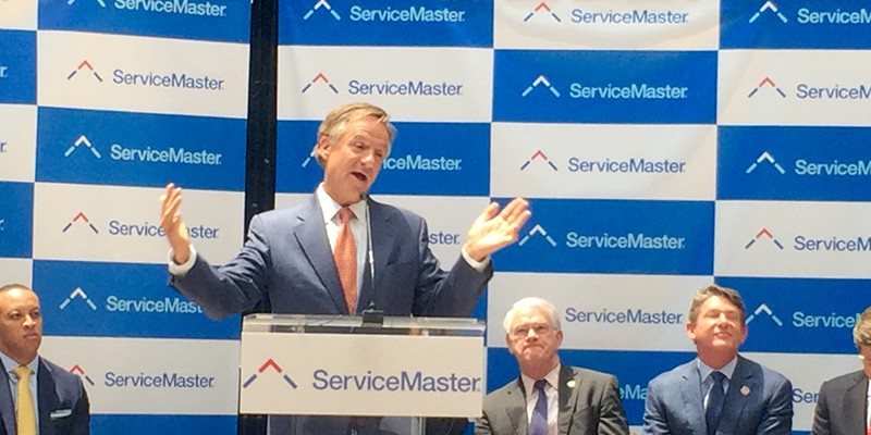 ServiceMaster Moves Global Headquarters to Peabody Place