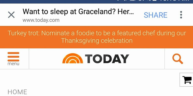 Really, Today Show? Graceland? In Nashville?