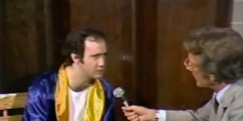 Andy Kaufman and Lance Russell
