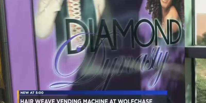 Vending Machine for Weaves Arrives, Memphis Now Officially a World Class City