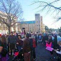 Shots from The Memphis Women's March  Rose Baker