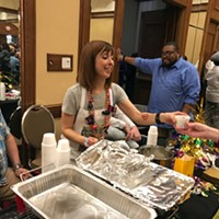 Pics from TEP Gumbo Contest 2017 Bianca Phillips Serves Up Some Vegan Crunk Gumbo JB