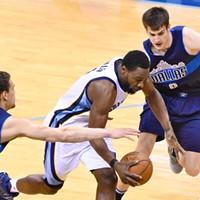 Grizzlies vs. Mavericks, 4/12/17  Larry Kuzniewski