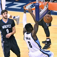 James Ennis has had a breakout year for the Grizzlies after being cut last year.